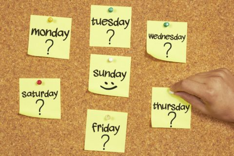 Here are the best days of the week to do things - if you want to save time and money