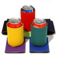 collapsible personalized koozies come in all shapes and sizes