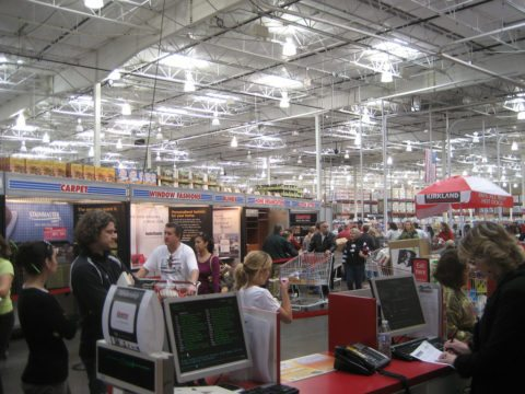 costco or sams registers