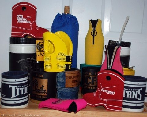 examples of personalized koozies and custom koozies