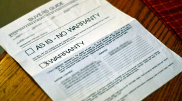 Should You Buy The Optional Extended Warranty or Service Protection Plan?