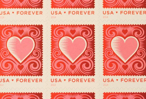 forever postage stamps cover the current postage rate