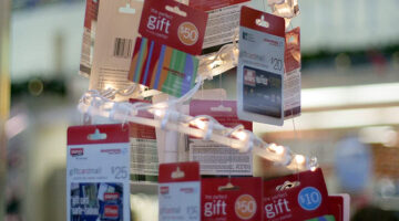Personalized Gift Cards For Major Stores… Put Your Own Photo On Them!