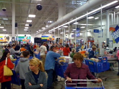 inside sams wholesale club