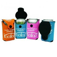 Kool Top can koozies are collapsible koozies with built-in lids