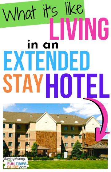 See what it's like living in an extended stay hotel for weeks or months at a time.