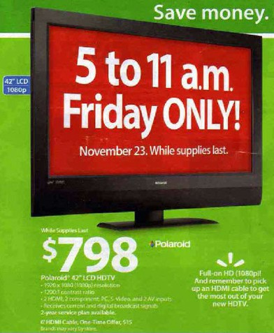 great deals on 42 inch widescreen tvs at black friday sales events the money saving guide. Black Bedroom Furniture Sets. Home Design Ideas