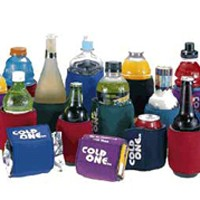 These are freezable wraps that act as can koozies and bottle koozies.