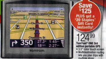 Tom Tom GPS… One Hot Product At Black Friday Sales Events