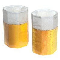 The Vacu Vin beer glass chiller is one of many clever koozies available these days.